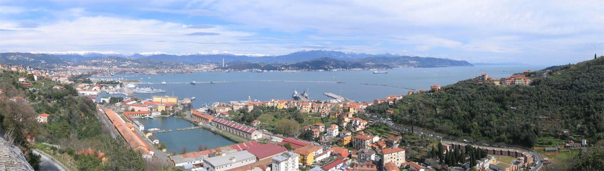 La Spezia, vista