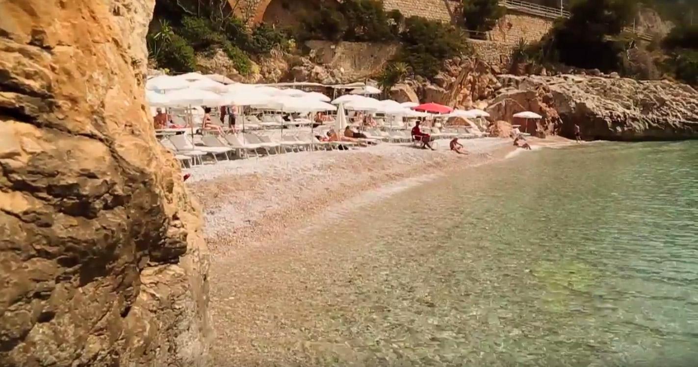 beach Balzi Rossi Ventimiglia