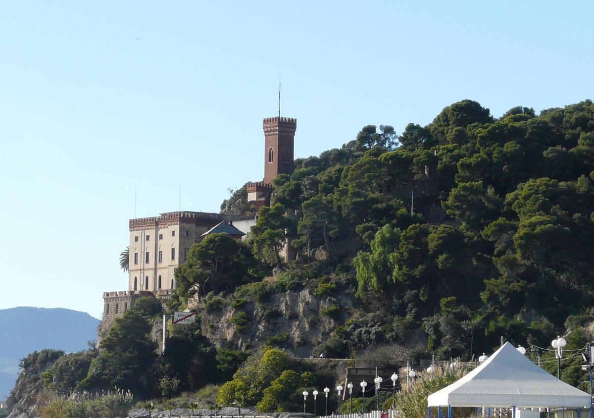 Borghetto Santo Spirito, Liguria, Castello Borelli