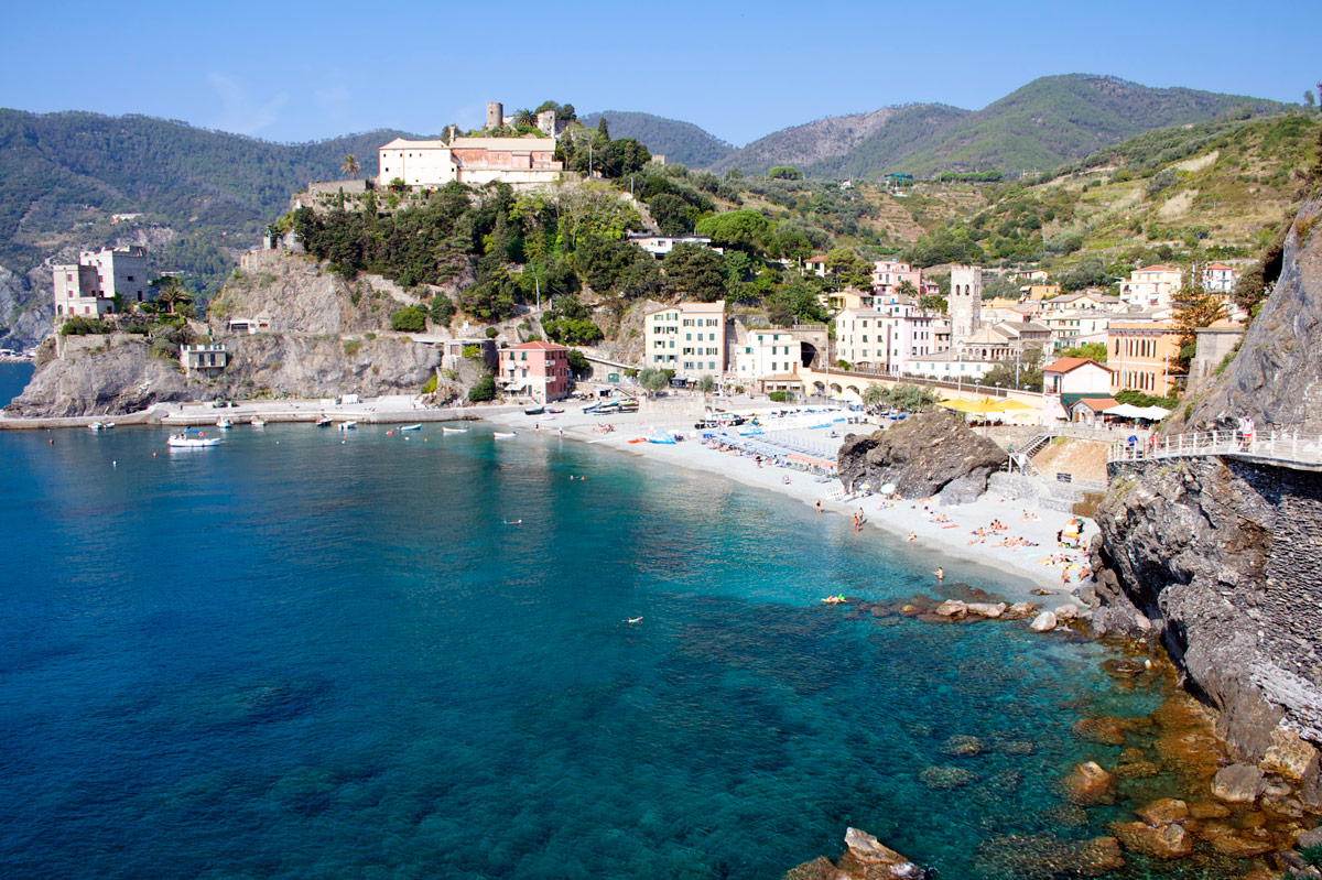 Monterosso al Mare, Strand