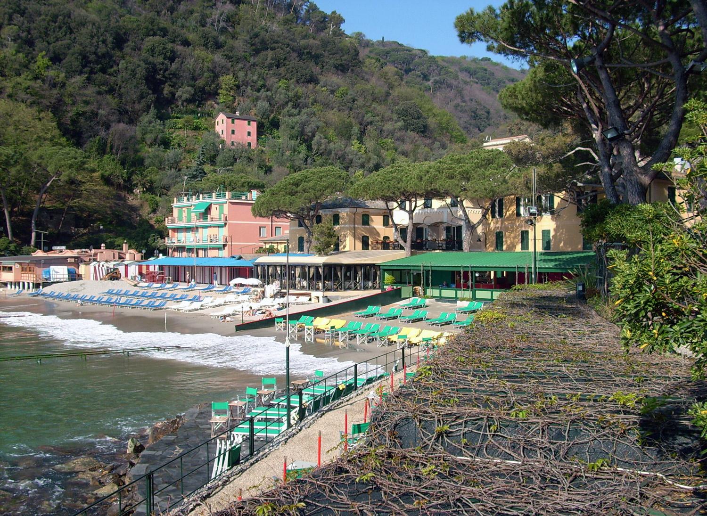 Paraggi San Fruttuoso Camogli, spiaggia