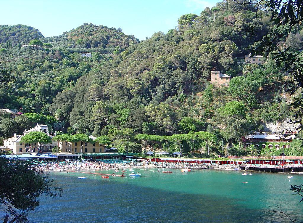 Paraggi Camogli Portofino, beach