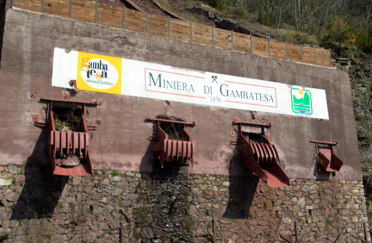 Miniera di Gambatesa Liguria