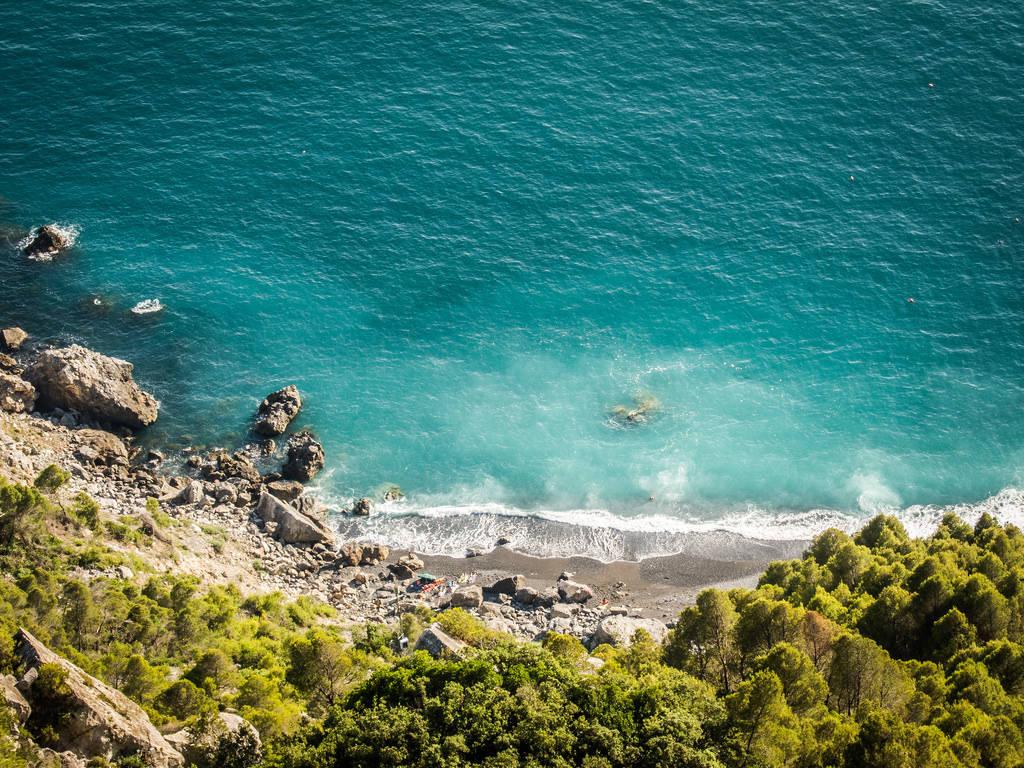 Punta Corvo scalinata