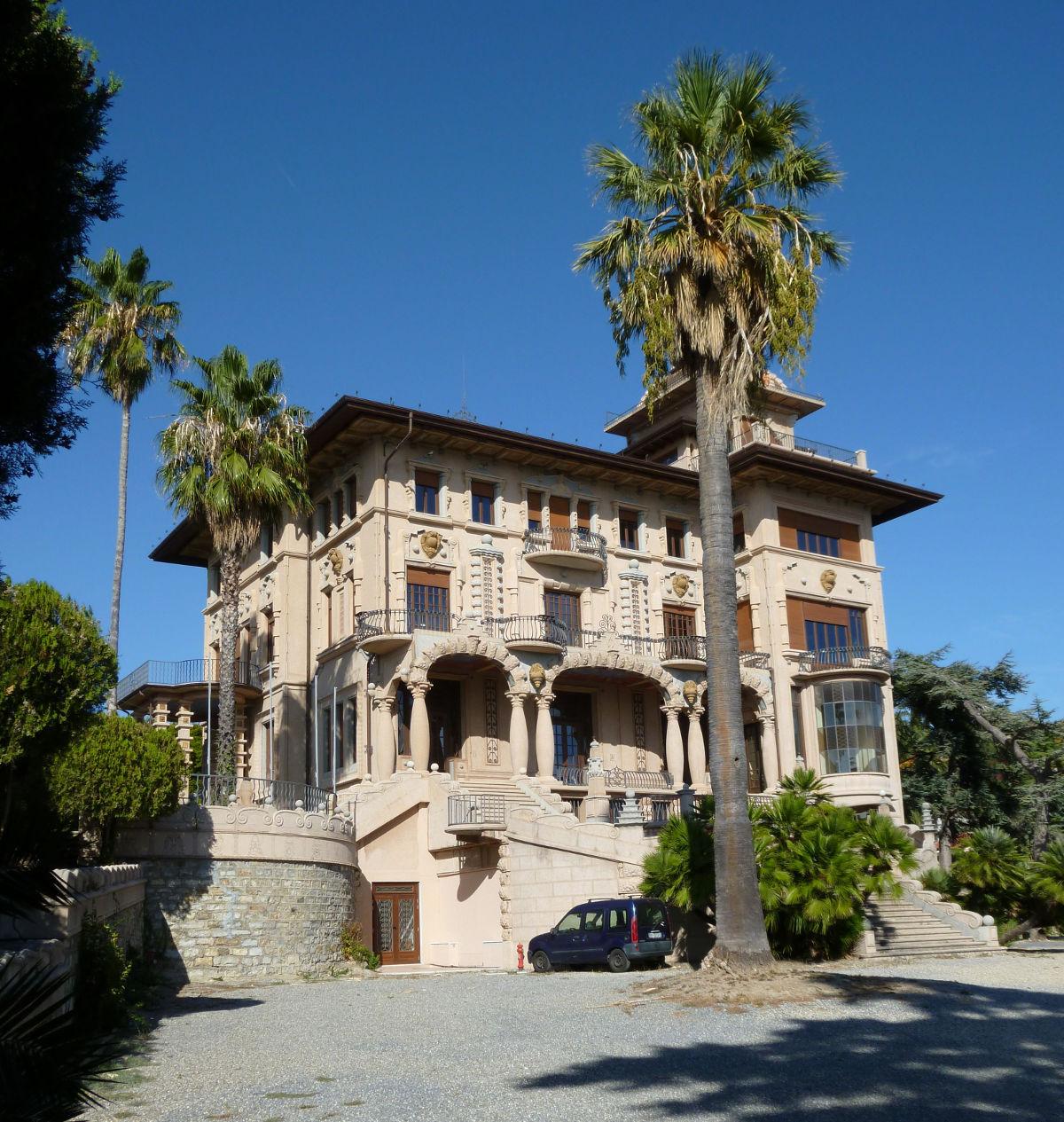 Villa Grock Imperia vista