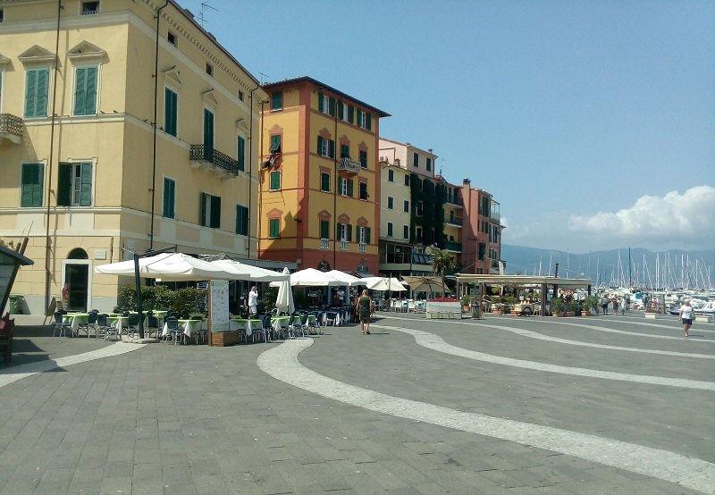 Piazza Garibaldi Lerici