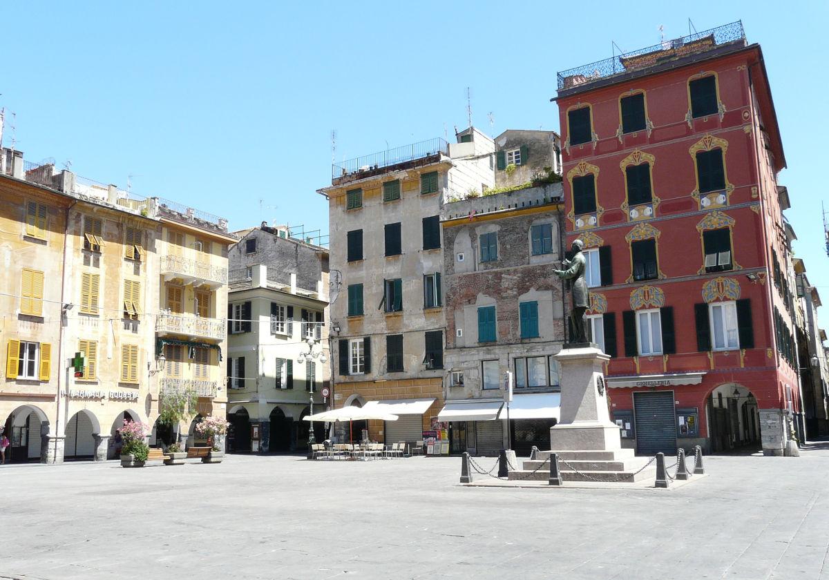 Piazza Mazzini Chiavari