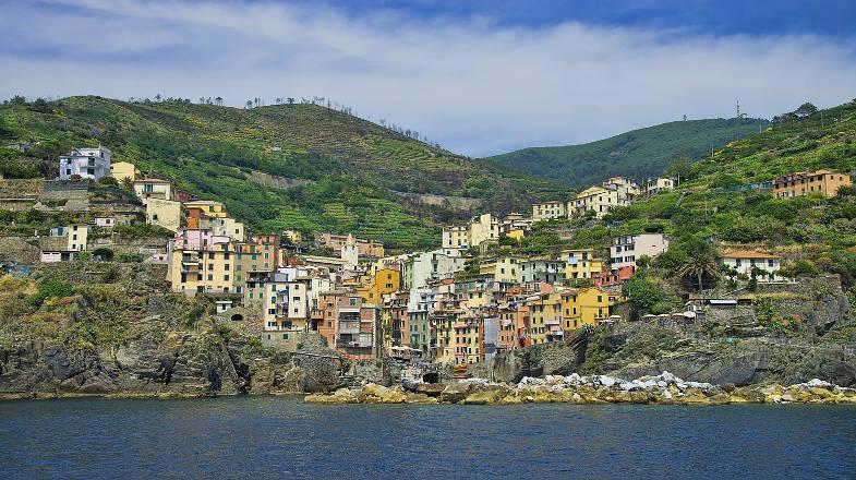 Vista su Riomaggiore