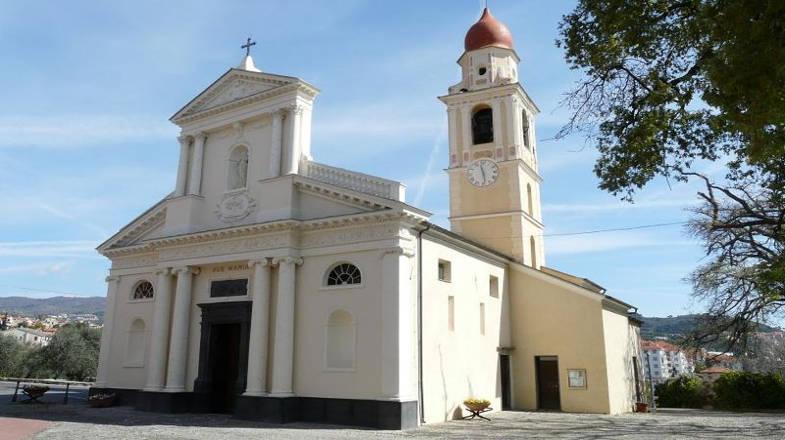 Santuario di Nostra Signora della Rovere, San Bartolomeo al Mare