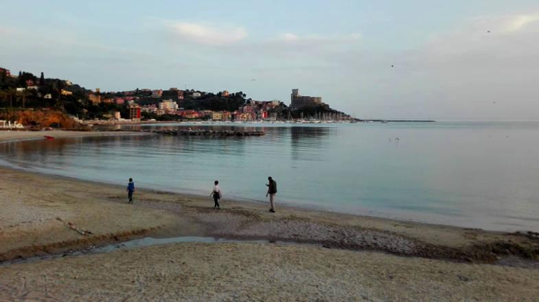 Spiaggia della Venere Azzurra, Lerici