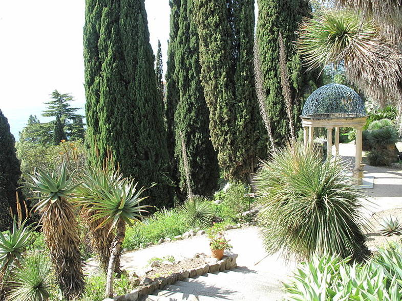 Tempietto nei Giardini Hanbury, Ventimiglia