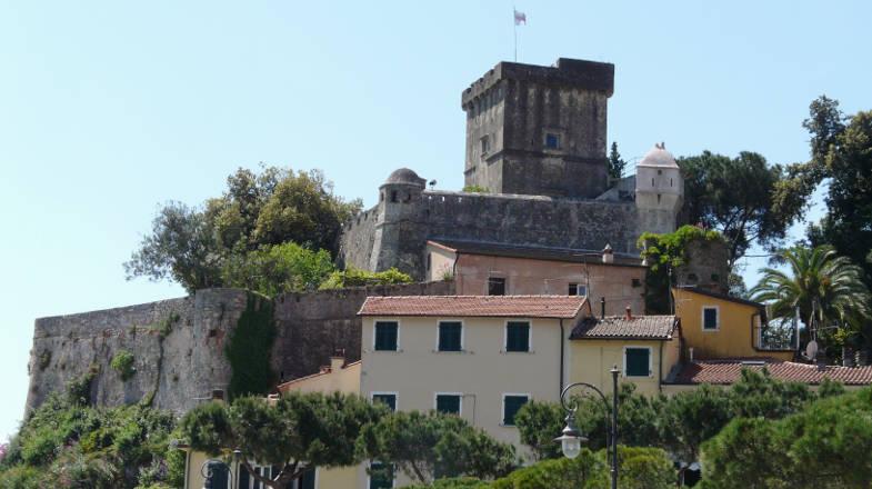 La Bastia, Castello di San Terenzo, Lerici