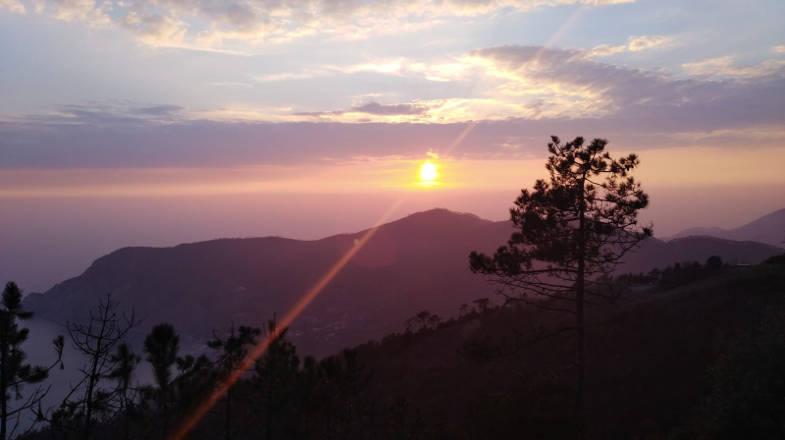 Panorama da Serra, Frazione di Lerici