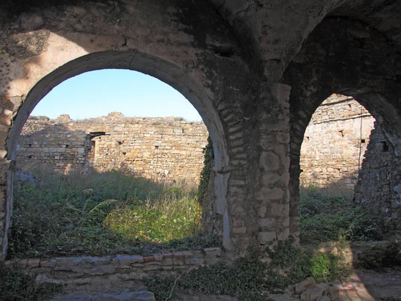 Interno del Castello di Andora
