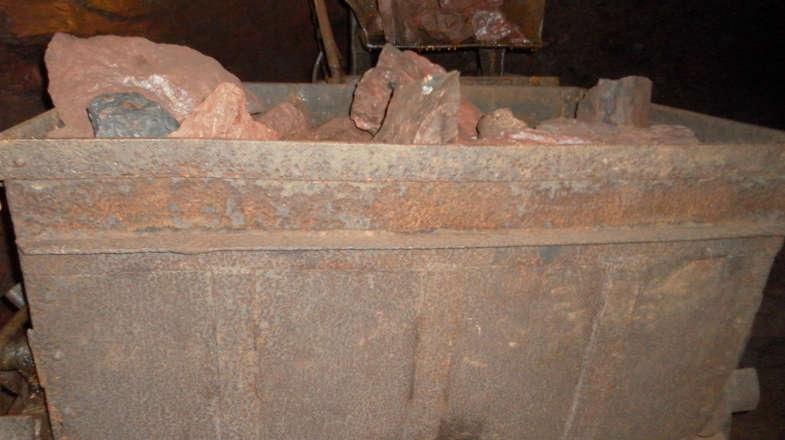 Carico di minerali, Miniere di Gambatesa