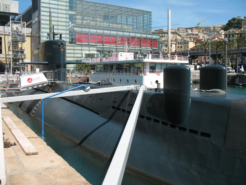 Il sottomarino Nazario Sauro