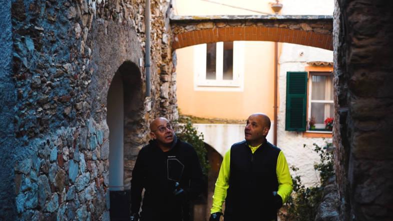Trekking in Ranzi, Pietra Ligure