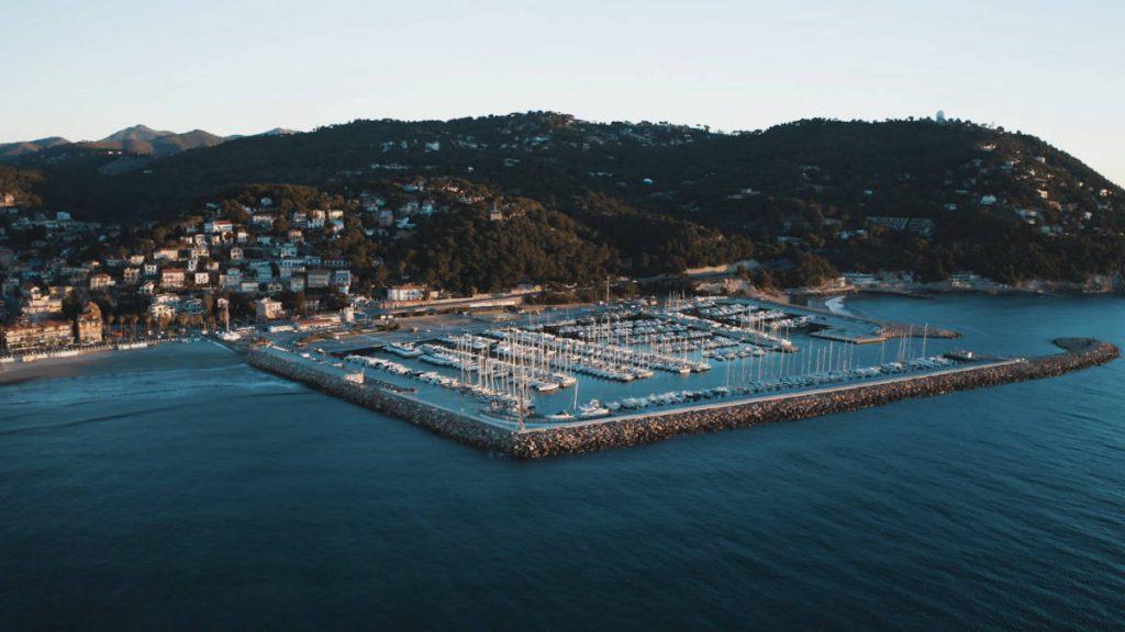 Il molo di Andora, partenza della tappa 4 di LiguriaTrekkingeXperience
