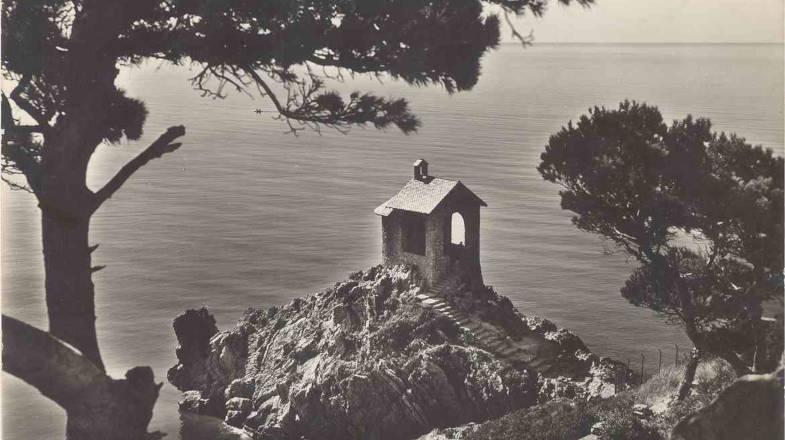 Cappelleta di Capo Santa Croce, arrivo del Lungomare Laigueglia-Alassio