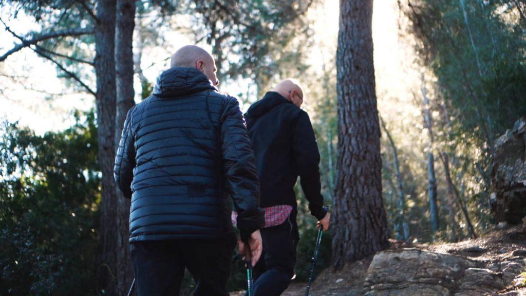 Trekking from Andora to Colla Micheri