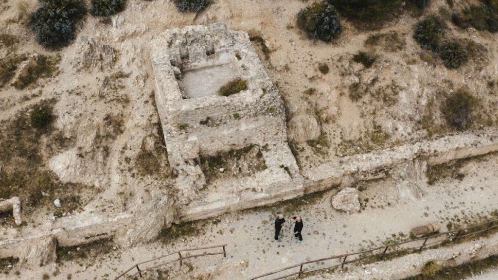Via Julia Augusta, the roman necropolis