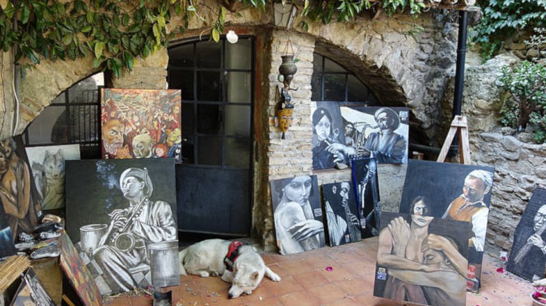 Bussana Vecchia, il borgo degli artisti della Liguria
