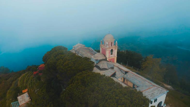 Montenero Sanctuary in Riomaggiore