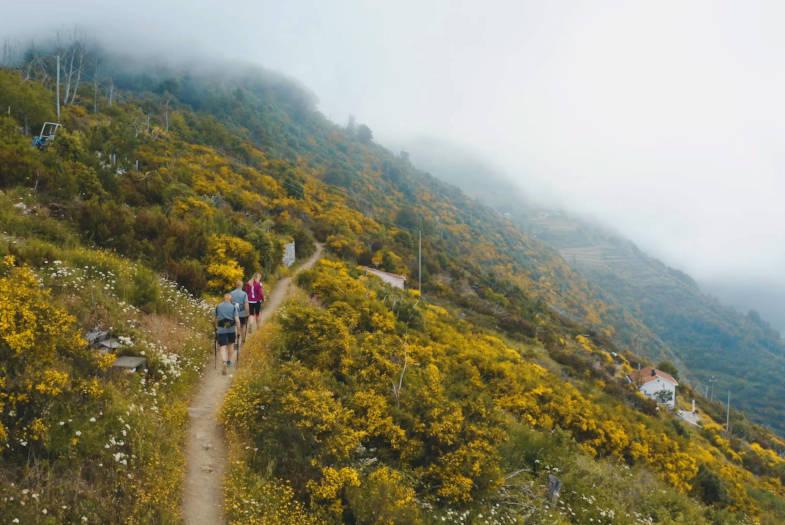 Camminando lungo il Sentiero Infinito da Riomaggiore a Portovenere