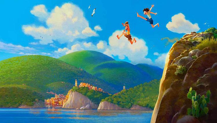 Le Cinque Terre in Luca